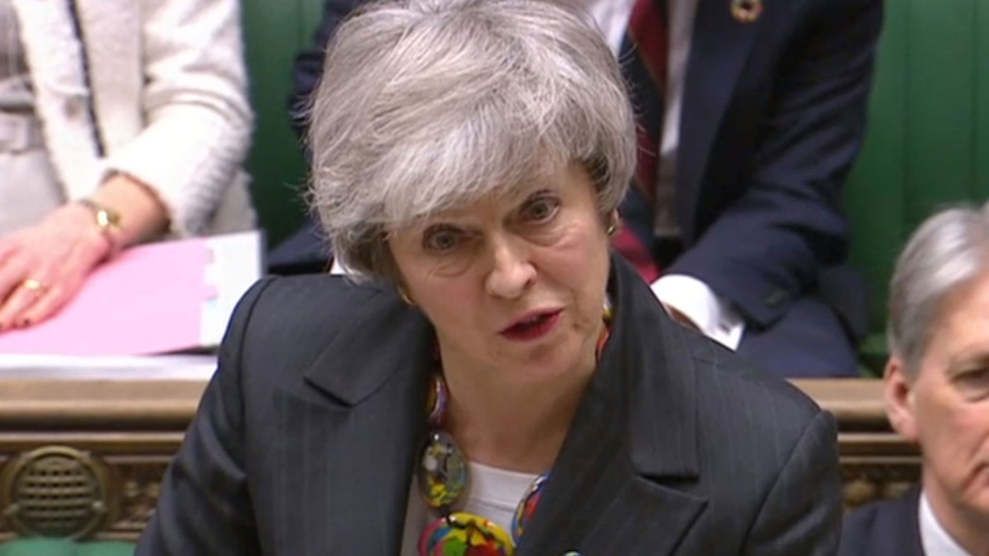 May tells MPs to 'hold their nerve' as Brexit hits another bump