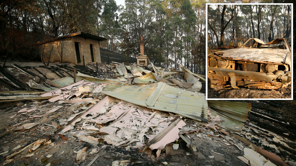 Victoria Bushfires: More Buildings Wiped Out As