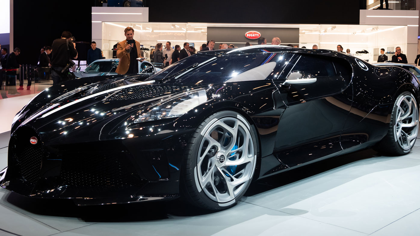 bugatti the most expensive new car ever sold. Black Bedroom Furniture Sets. Home Design Ideas