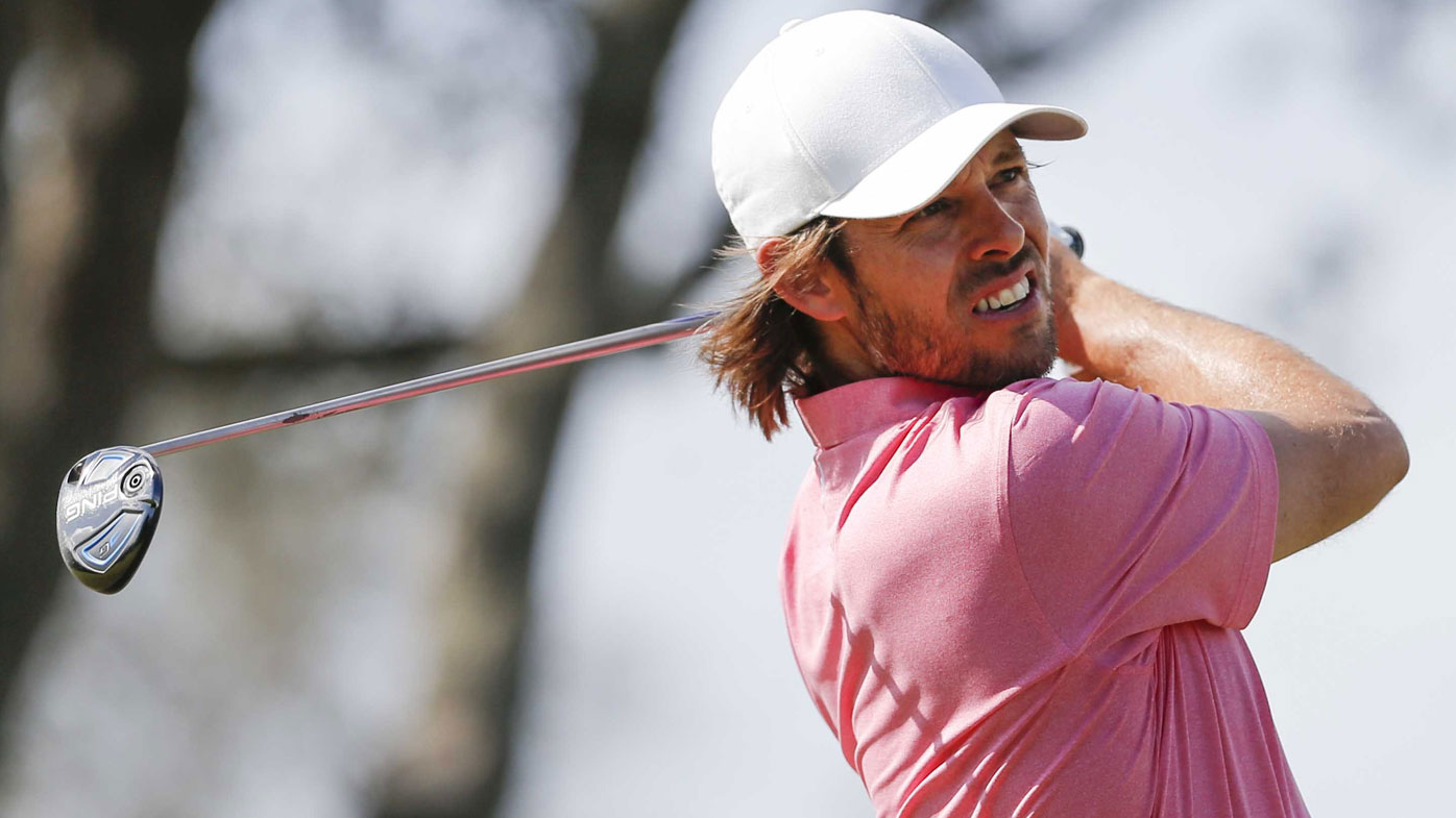 Aaron Baddeley is within striking distance at the Arnold Palmer Invitational. (AP)