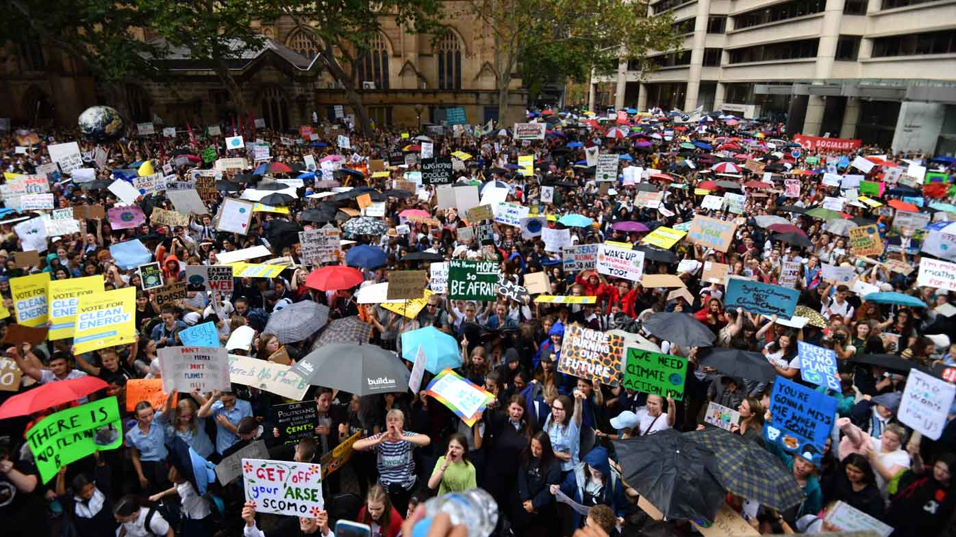 Climate Strike March 15 Twitter: Climate Strike Live: School Students Protest Climate