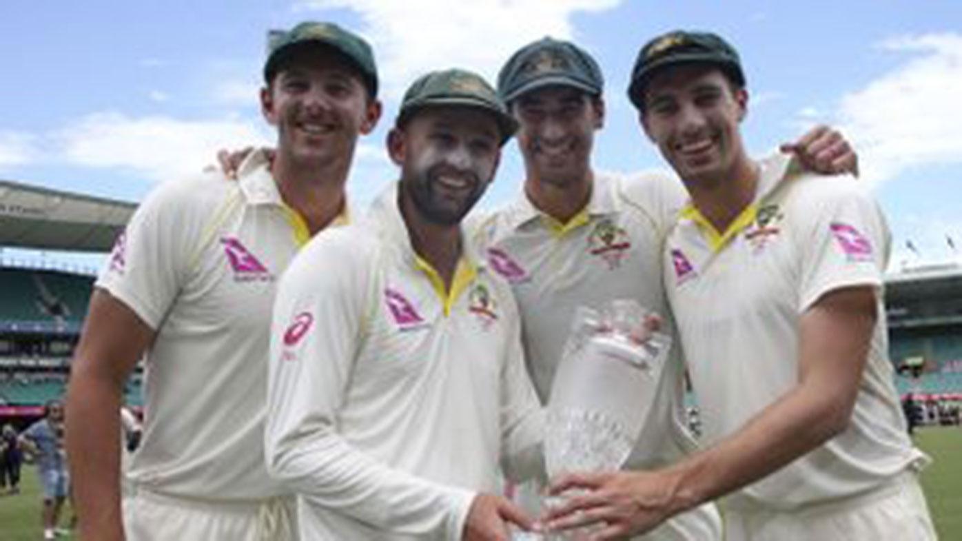 Australia won the Ashes 4-0 in 2017-18