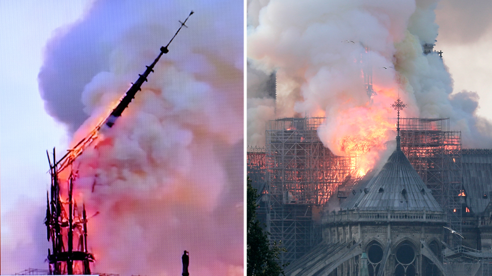 Paris' famed Notre Dame engulfed in flames