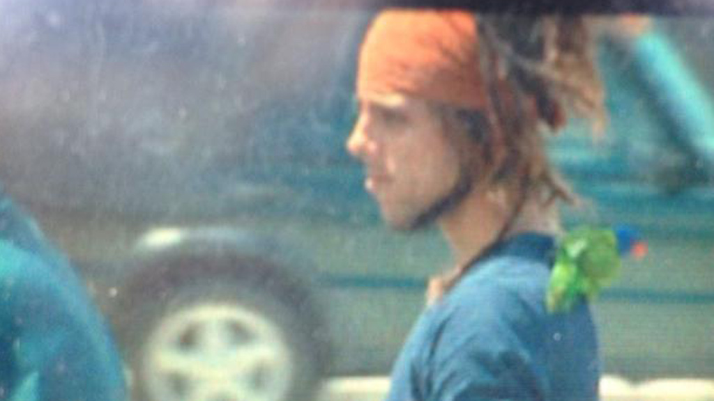 The man arrived at a police station on the Gold Coast today. (9NEWS)