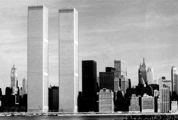 The World Trade Centre's Twin Towers were completed in 1975. (AFP)