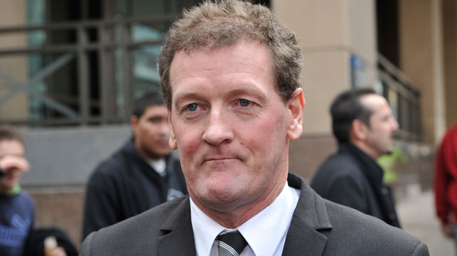 Ricky Nixon was not in court today, where his autobiography was banned from publication for seven days. (Supplied)