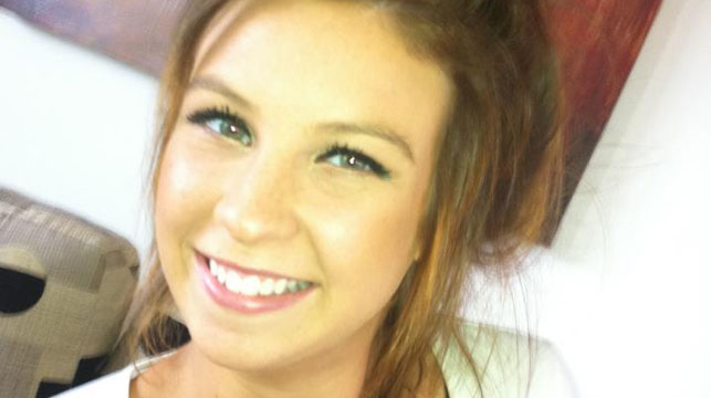 Sarah Cafferkey, 22, who was murdered in 2012. (AAP)