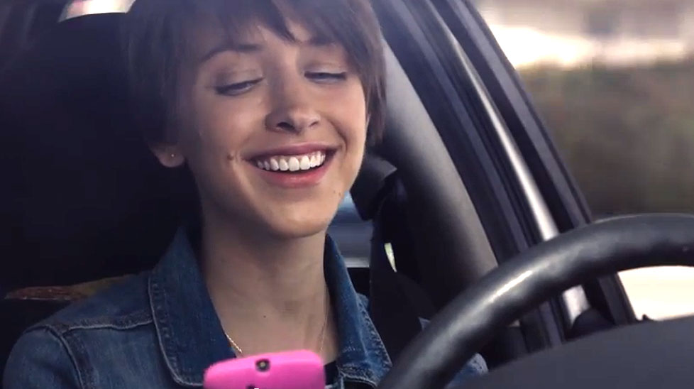 This ad shows that single moment of distraction can have tragic consequences.