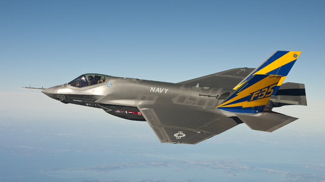 Prime Minister Tony Abbott will announce the purchase of another 58 F-35 Joint Strike Fighters to the tune of $12.4 billion (Getty).