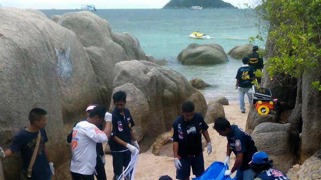 Koh Tao, an island in southern Thailand, where the bodies of two British tourists were found. (AAP)