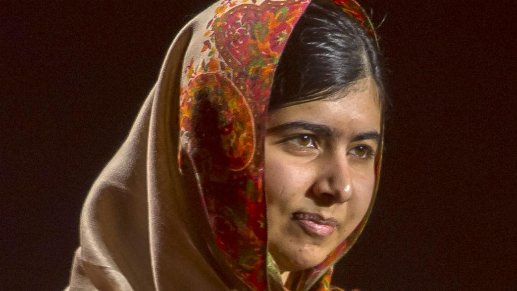 Nobel Peace Prize winner Malala Yousafzai. (Getty Images)