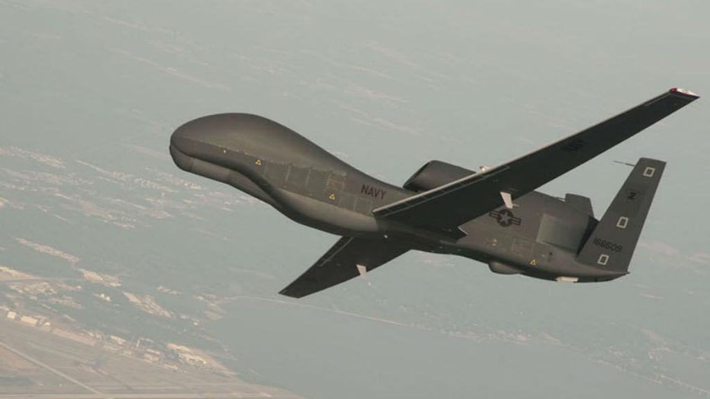 A US Global Hawk drone. (AAP)