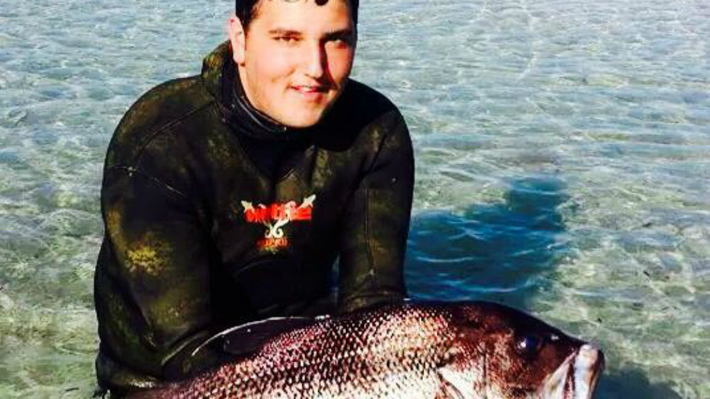 Jay Muscat, 17,  was fatally attacked by a shark off Western Australia's south coast. (Facebook)