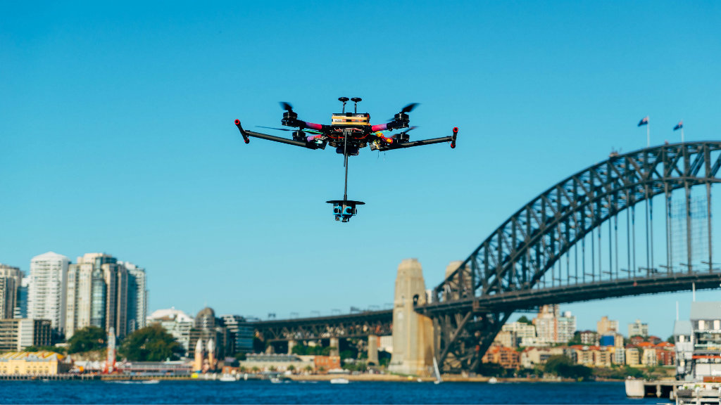 Drone to capture Sydney fireworks to broadcast across globe in world first