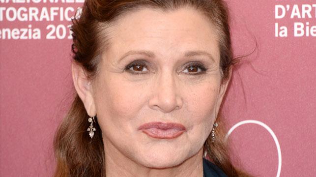 Carrie Fisher aka Princess Leia. (Getty)