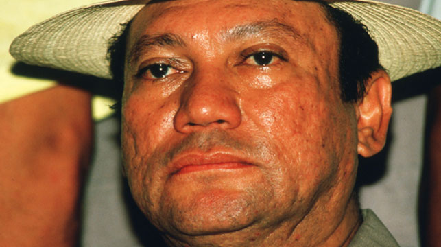 General Manuel Antonio Noriega poses February 13, 1988 in Panama. (Getty)