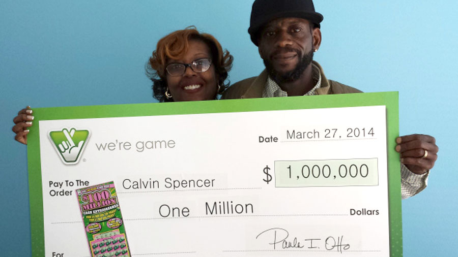 US couple wins lottery three times in a month