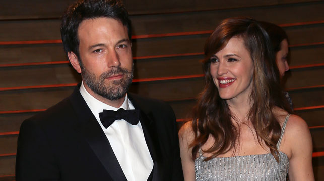 Ben Affleck and wife actress Jennifer Garner at the 2014 Vanity Fair Oscar Party in March. (Getty)