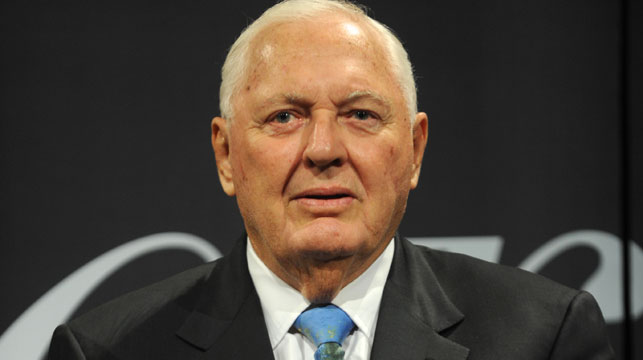 Alan Bond during the 30th anniversary of Australia's win in the America's Cup, in Sydney, Thursday, Sep. 26, 2013. (AAP)