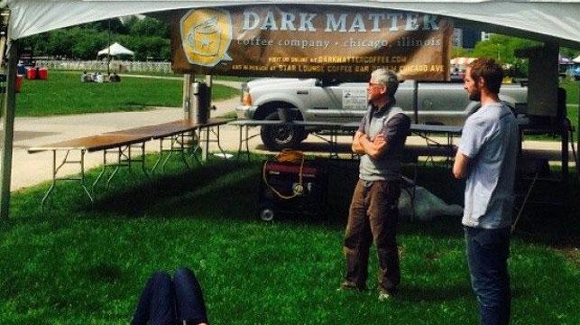 Coffee expert Jim Karr (left). (Supplied)
