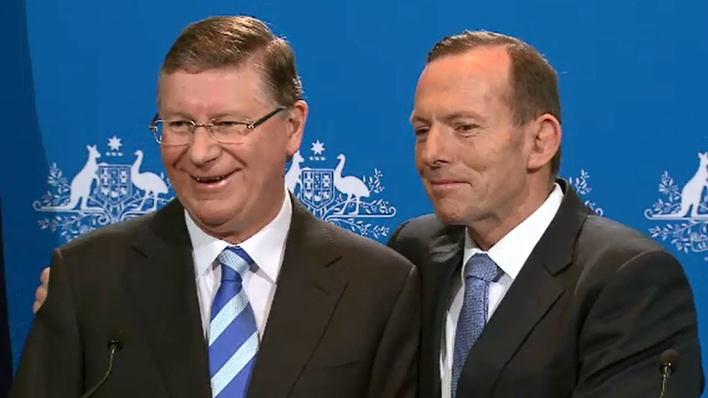 Why the Napthine Government will probably fall, courtesy of Tony Abbott's growing unpopularity