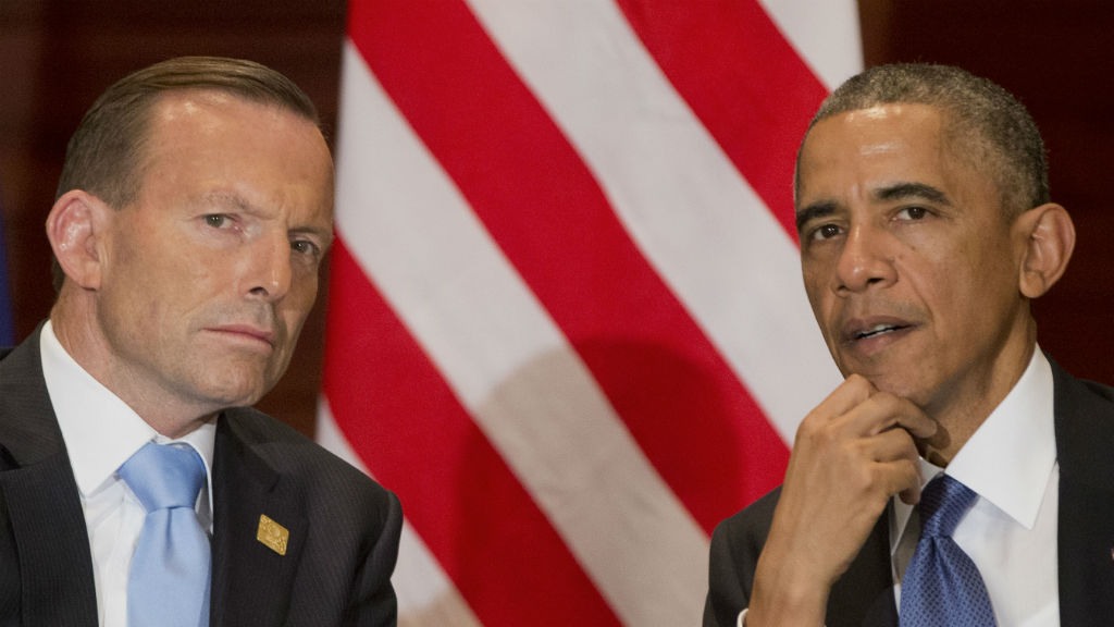 Tony Abbott reportedly met with Barack Obama during US trip
