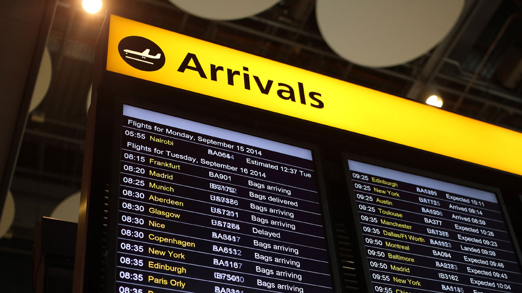 Man arrested at Heathrow Airport on suspicion of planning terror attack