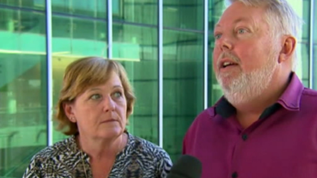Daniel Morcombe's parents. (9NEWS)
