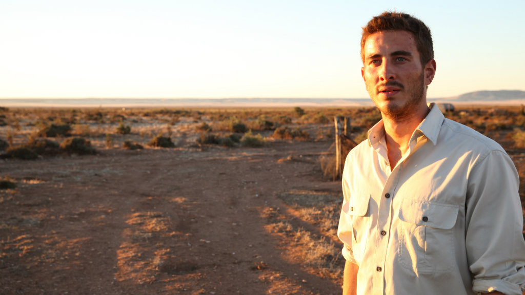 Ryan Corr won an award for his role in Wolf Creek 2 shortly after his arrest. (AAP Image/Cameron Oliver)