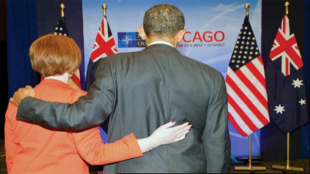 Julia Gillard said she had a close, warm relationship with US president Barack Obama. (9News)
