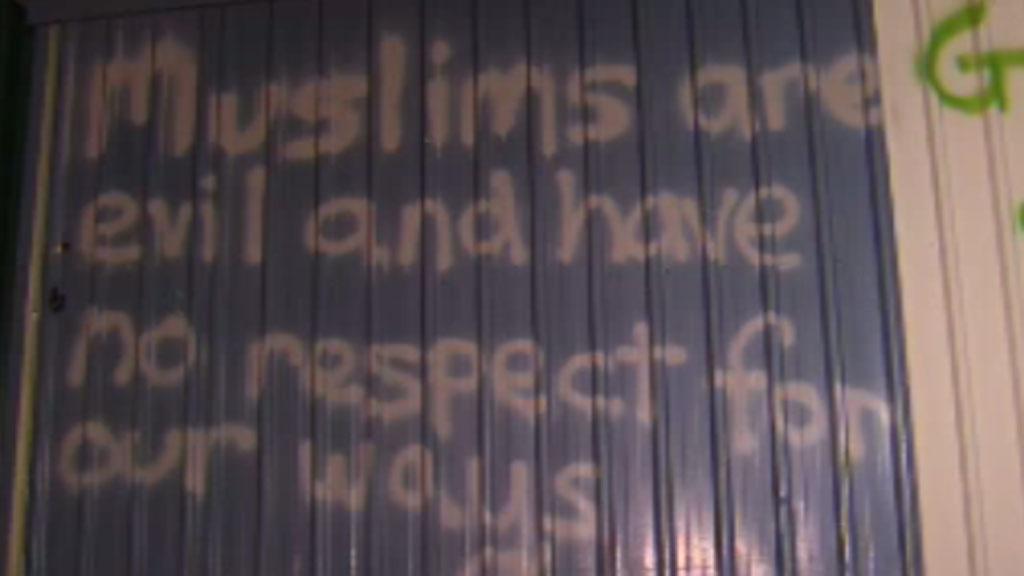 UPDATE: Man arrested following graffiti attack on Brisbane mosque