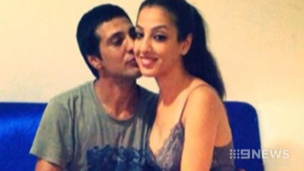 Leila Alavi with her estranged husband Mohtkar Hosseiniamraei. (9NEWS)