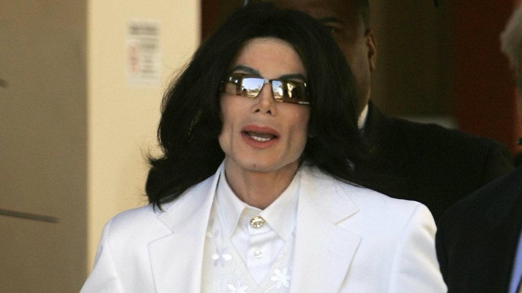 Michael Jackson in 2005. (Getty)