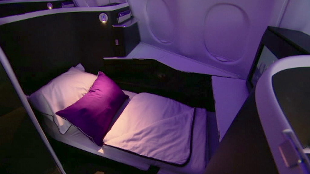 Airlines in dogfight for your business dollar as new luxury suites go on sale