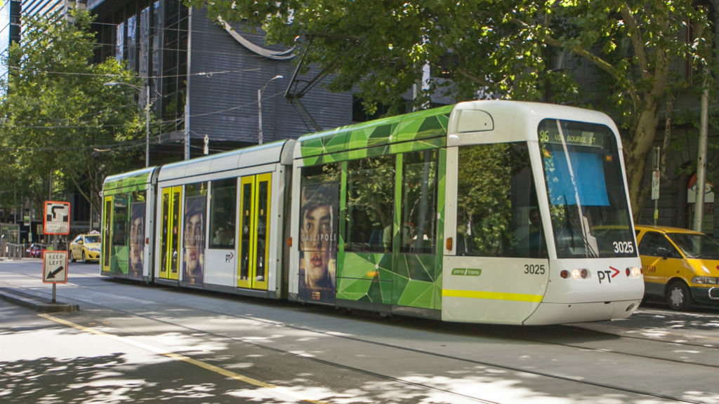 Melbourne uni student sues tram company after being pinned down