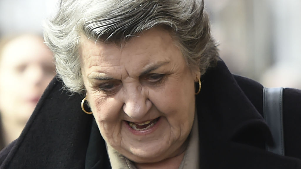 Maggie Kirkpatrick outside of Melbourne Magistrates' Court. (AAP)