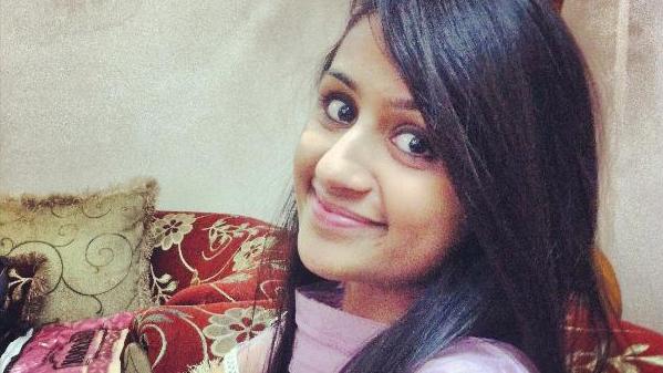 Twenty-year-old Delhi University student Jasleen Kaur. (Facebook/Jasleen Kaur)