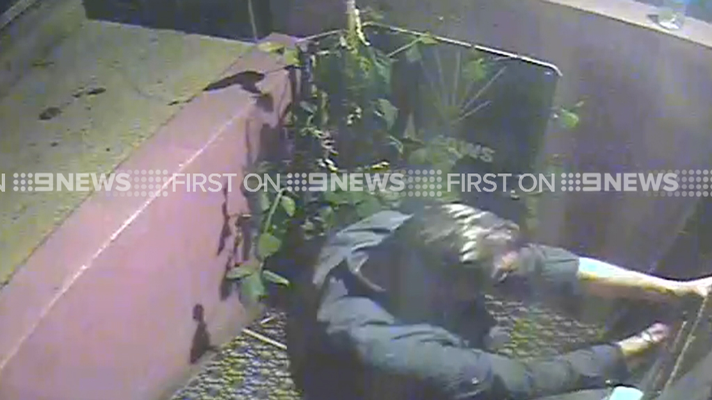 The 52-year-old victim survived the attack. (9NEWS)