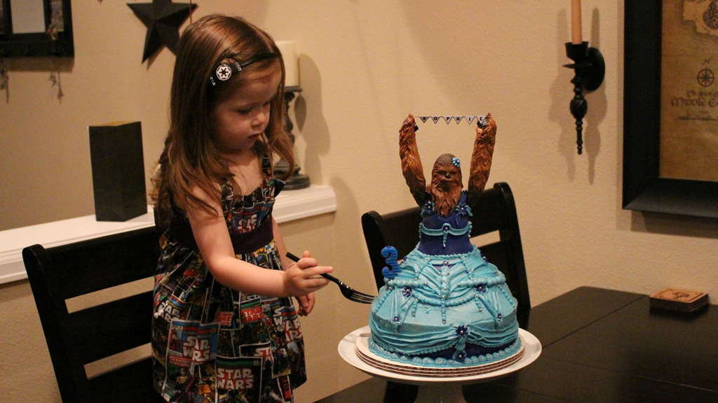 Princess Chewbacca proof sci-fi fangirls can have their cake and eat it too