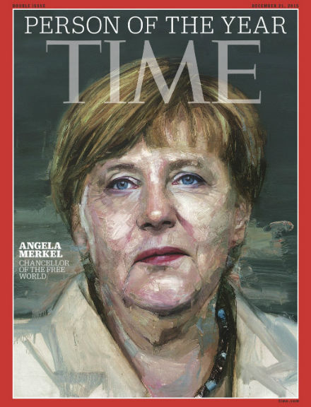 Time magazine names Angela Merkel as its person of 2015