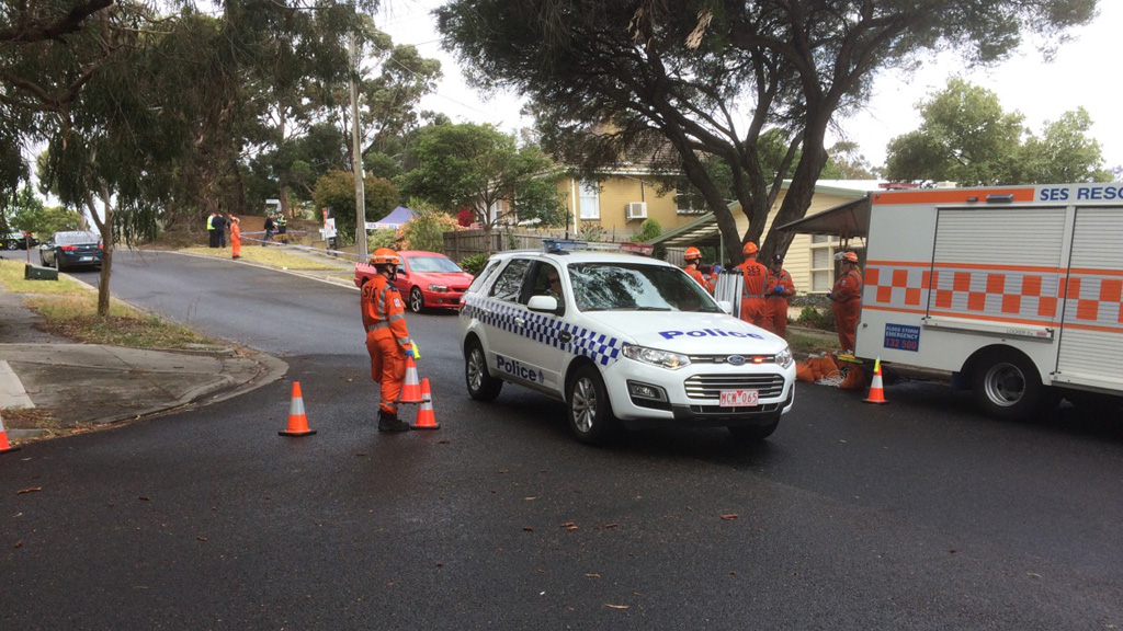 The Homicide Squad is en route to the scene. (9NEWS)
