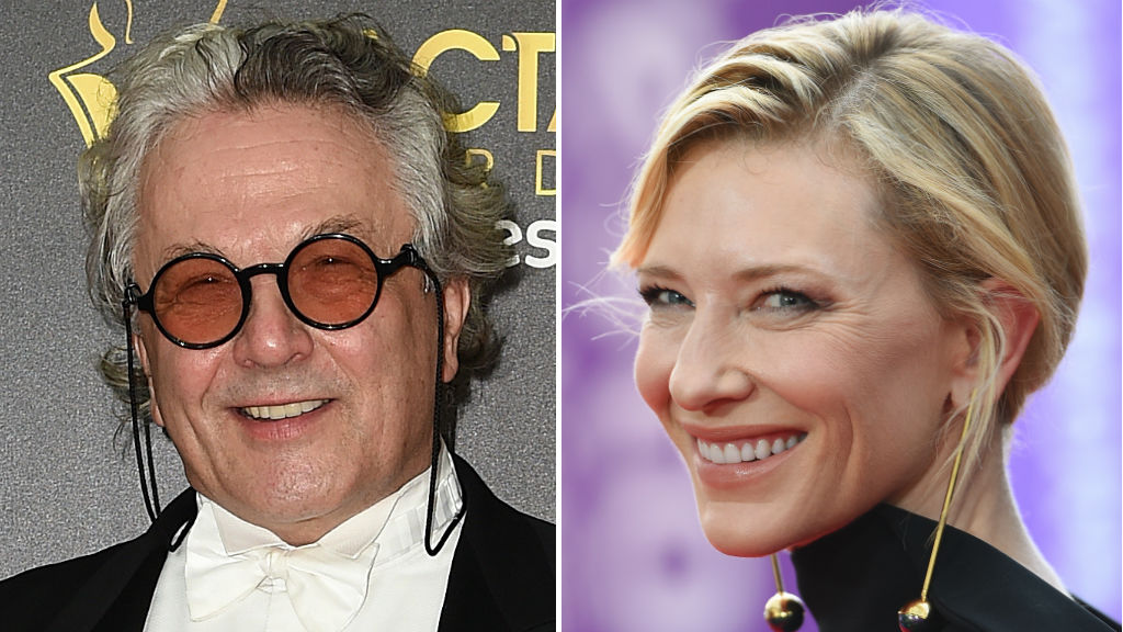 George Miller and Cate Blanchett. (AAP)