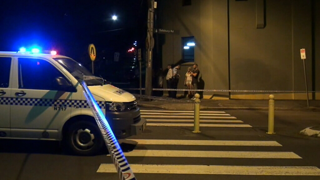 The male victim died at the scene. (9NEWS)