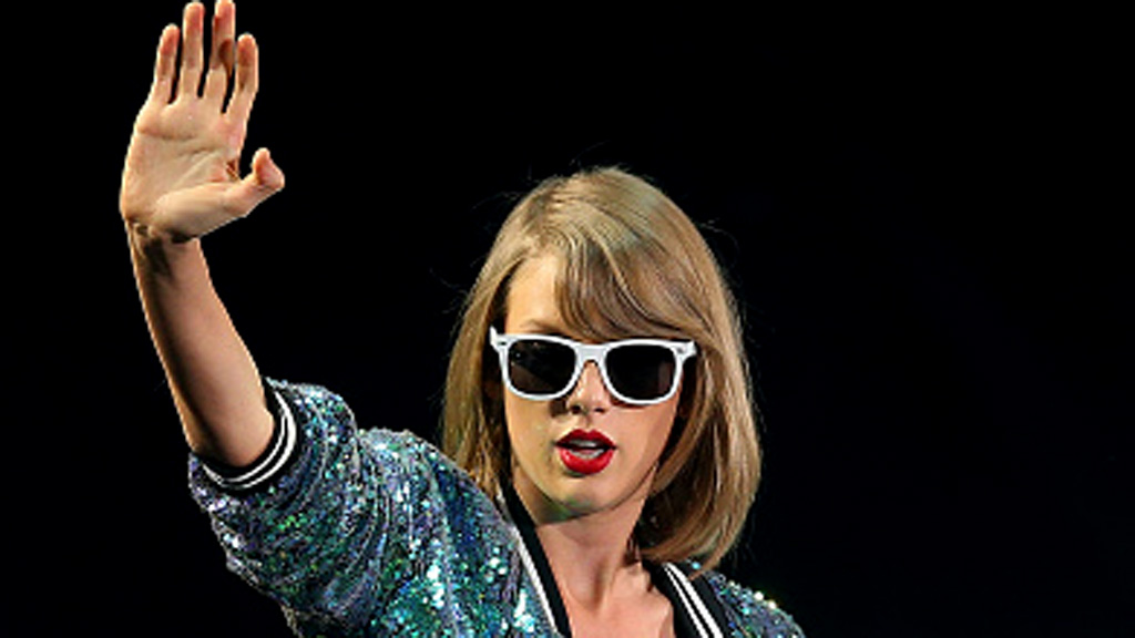 A man has been arrested for lurking outside Taylor Swift's Los Angeles home. (AAP)