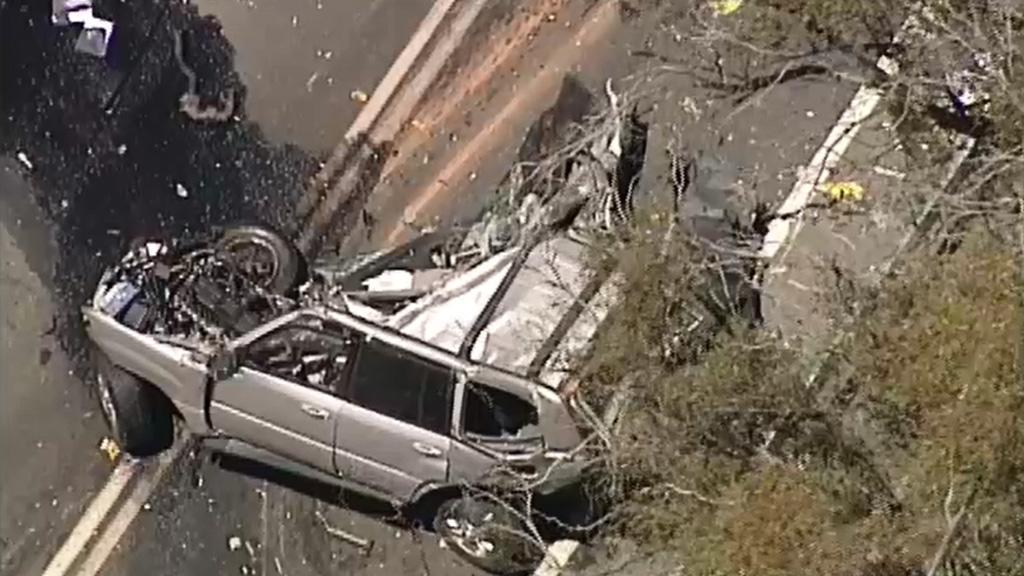 One dead, one seriously injured in collision between truck and car at Lancefield