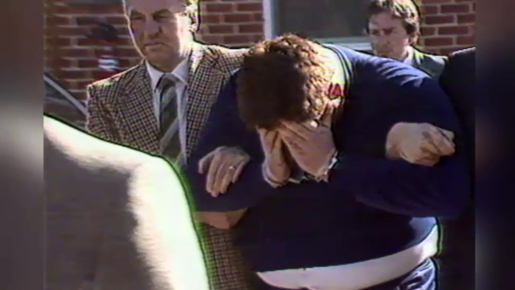 Craig Minogue was arrested in Swan Hill in 1986 over the Russell Street bombing. (9NEWS)