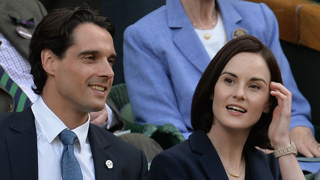 Fiancé of 'Downton Abbey' star Michelle Dockery dies after long illness