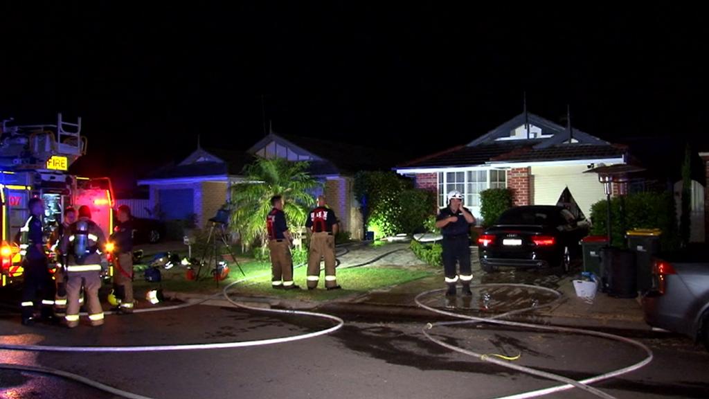Sleeping woman saved by smoke alarm in Hinchinbrook house fire
