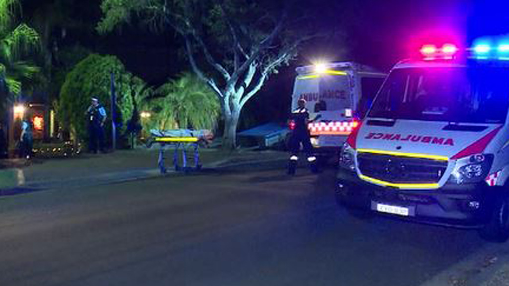 Woman fighting for life after kerosene lamp ignited in backyard in Sydney's west