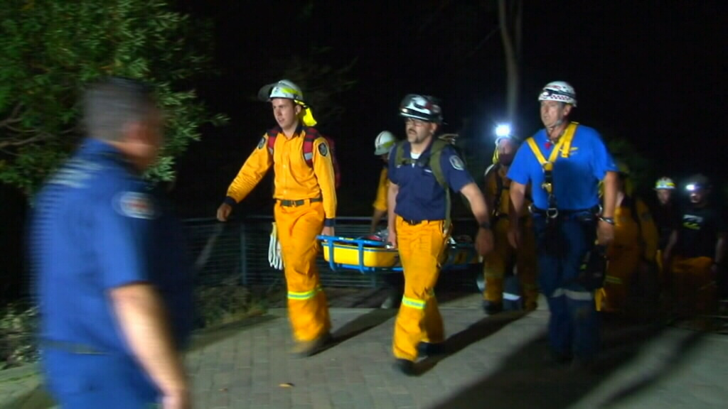 Teen boy fighting for life after falling 25m down Blue Mountains waterfall